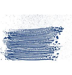 grunge texture distress indigo rough trace vector image