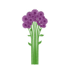 Lilac flowers spring natural vector