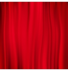 Red curtain background EPS 10 vector image