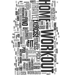 Workouts that travel text word cloud concept vector