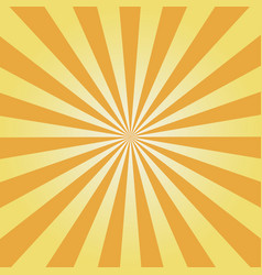 yellow sunburst vector image