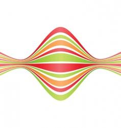 bent lines vector image vector image