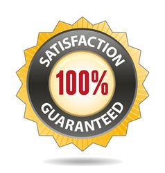 Satisfaction vector image vector image