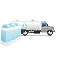 cargo truck concept 07 vector image