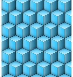 Infinity Cubes vector image vector image