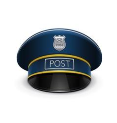 postmans cap vector image
