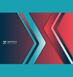 abstract modern gradient vibrant color triangle vector image