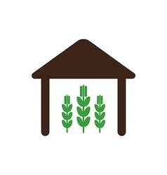 Barn icon Farm vector