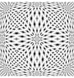 Design monochrome mosaic pattern vector