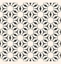 monochrome seamless pattern geometric delicate vector image