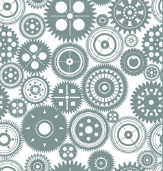Seamless texture or different gear wheels vector