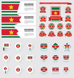 SET suriname vector