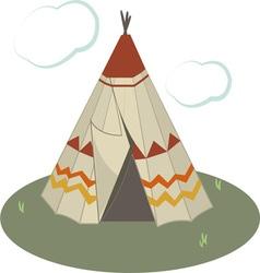 Teepee Tent vector