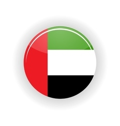 United Arab Emirates icon circle vector