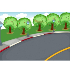 a road vector image