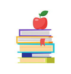 pale of books vector image