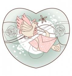 romantic illustration vector image vector image