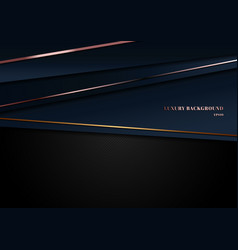 abstract template dark blue luxury premium vector image