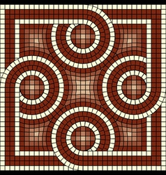 Antic mosaic vector