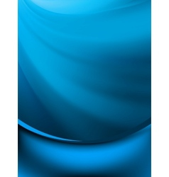Blue rotation water EPS 8 vector image