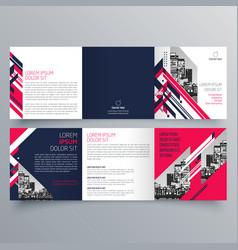 brochure design 776 vector image