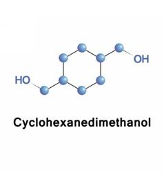Cyclohexanedimethanol isomeric organic vector