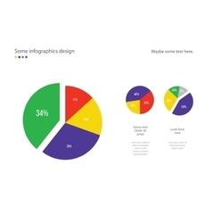 Infographic round diagram design Useful for vector image