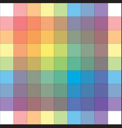 Polychrome multicolor spectral versicolor grid vector