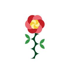 Rose flower clip art element vector