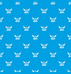 Sheriff pattern seamless blue vector