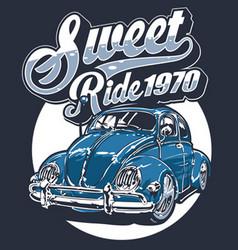 Sweet ride vector