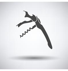 Waiter corkscrew icon vector image vector image