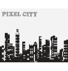 pixel vector image vector image