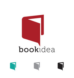 Book idea icon design vector