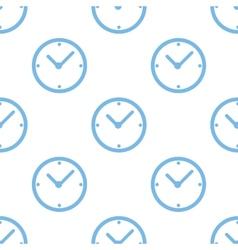 Clock seamless pattern vector image