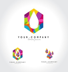 Corporate Colorful logo vector image