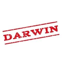 Darwin Watermark Stamp vector image