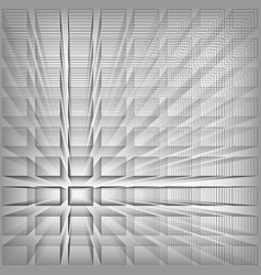 gray color abstract infinity background 3d vector image vector image