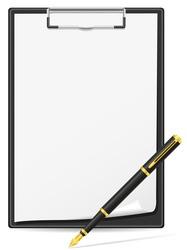 clipboard 03 vector image vector image