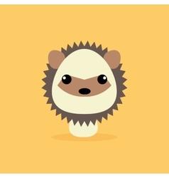 Cute Cartoon Wild porcupine vector