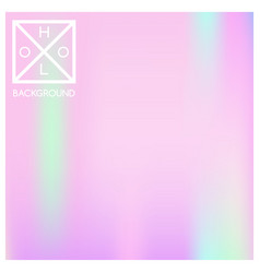 Holographic background holo sparkly cover vector