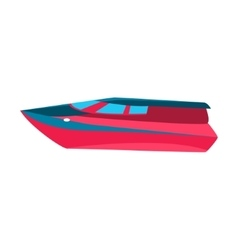 Luxury Cutter Toy Boat vector