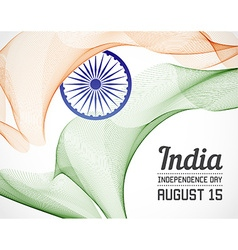 National Day of Country in Blending Lines Style vector