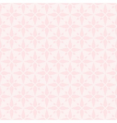 Pink seamless abstract rhombus lace pattern vector image