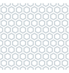 Seamless hexagons honeycomb pattern vector