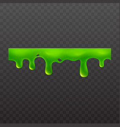 Slime or goo sticky toxic liquid vector