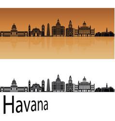 havana v2 skyline vector image