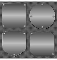 Metal Boards vector image
