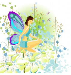 young butterfly vector image vector image