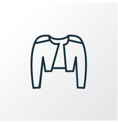 belero icon line symbol premium quality isolated vector image